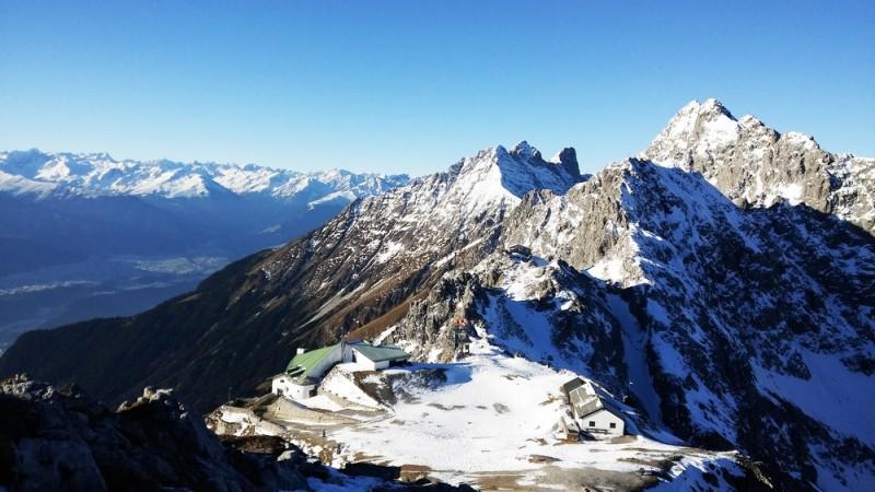 Gode steder for rutinerede skiløber at stå på ski i Østrig