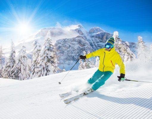 ski i italien
